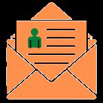 oranger Brief als E-Mail Vorlage