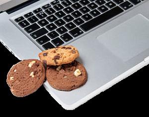 Tastatur und Cookies