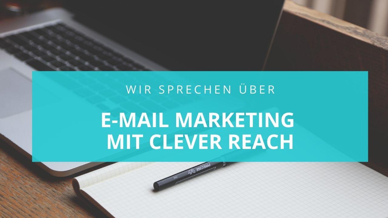 Wir sprechen über E-Mail Marketing