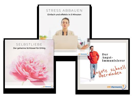 DM-Harmonics-Aengste kontrollieren und ueberwinden-Stressabbauen-Sich selbst liebenProduktcover